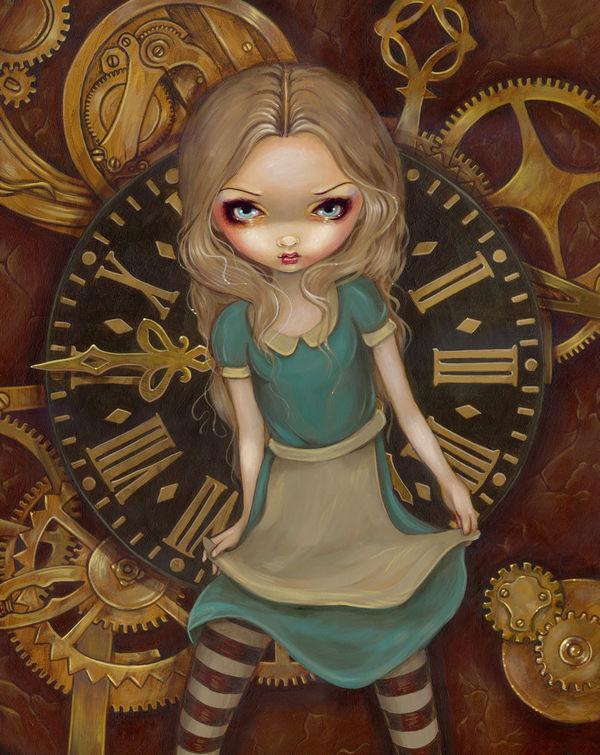 Jasmine Becket-Griffith Alice Clockwork