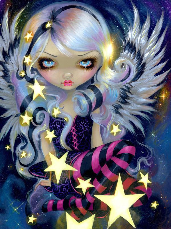 Jasmine Becket-Griffith Angel Starlight