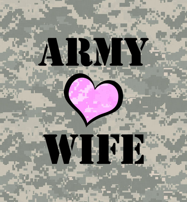 Army Wife by US Army : DecalGirl