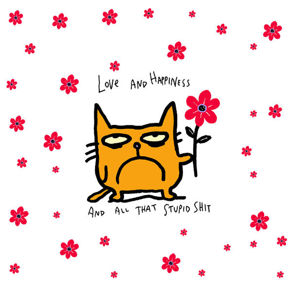 catwad happy by jim benton