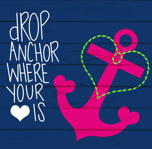 Drop Anchor By Brooke Boothe