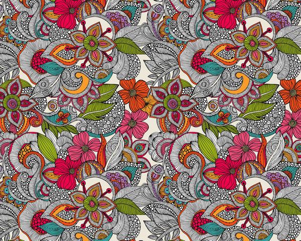 doodles color by valentina ramos decalgirl