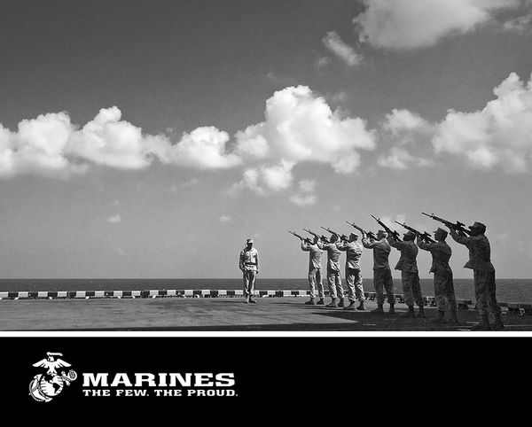 the few the proud by us marine corps