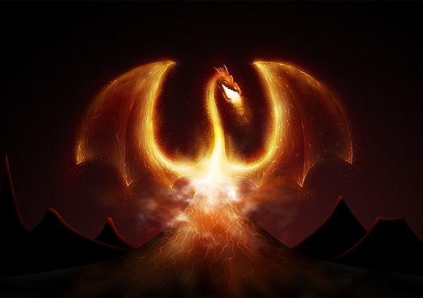 fire dragon by vlad studio