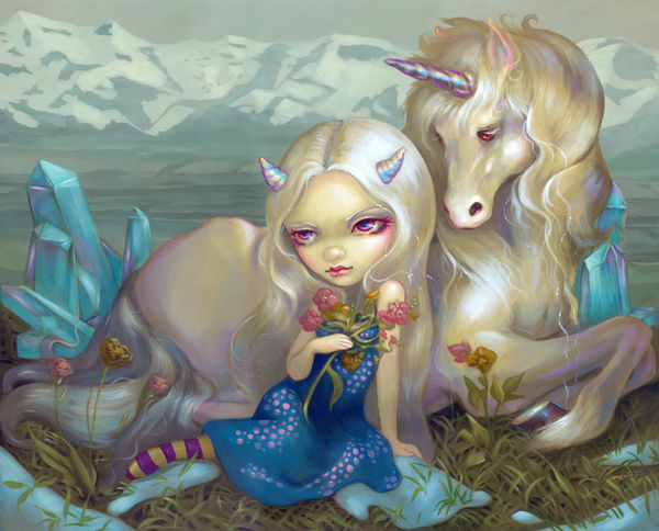 Fiona Unicorn By Jasmine Becket Griffith Decalgirl