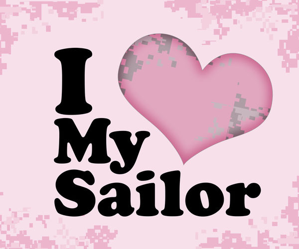 I Love My Sailor by US Navy | DecalGirl