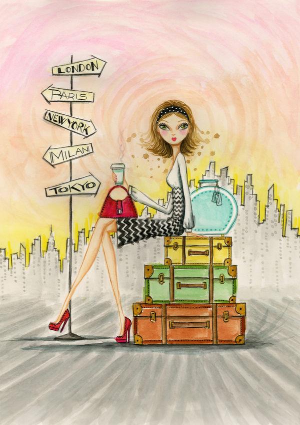 The Jet Setter By Bella Pilar Decalgirl