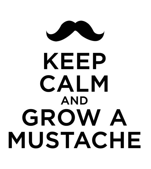 Keep Calm - Mustache by Keep Calm | DecalGirl