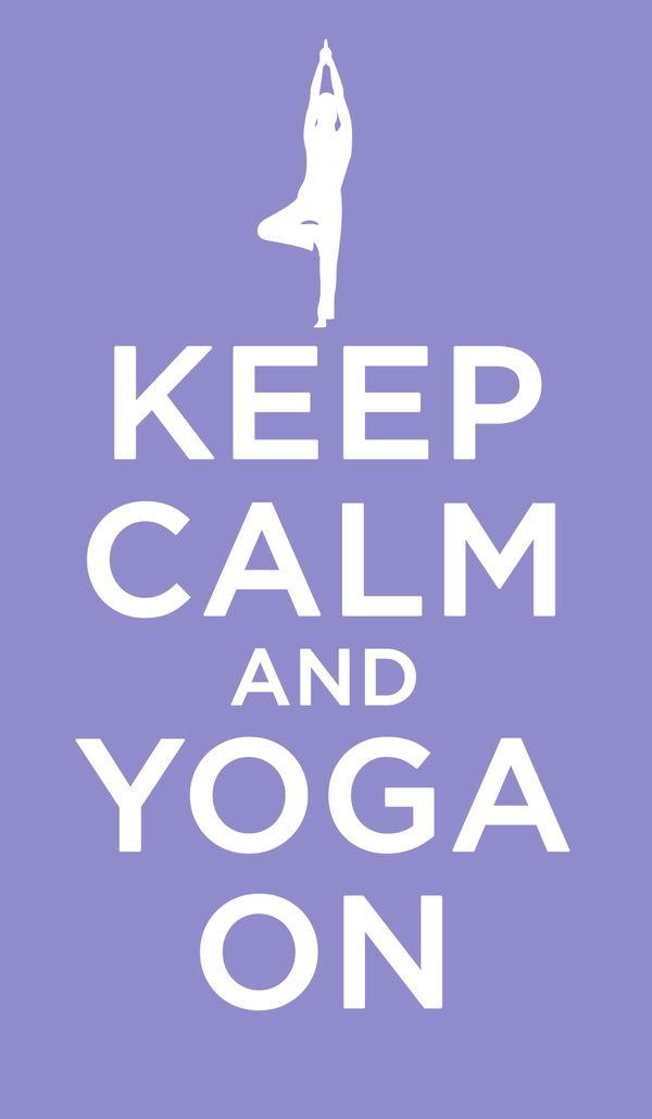 Keep Calm - Yoga by Keep Calm | DecalGirl