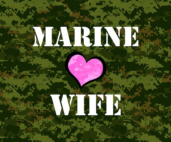 Drones For Sale >> Marine Wife by US Marine Corps | DecalGirl