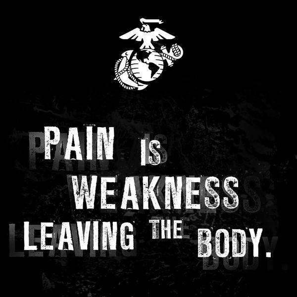 Marine Corps Wallpapers: Pain By US Marine Corps