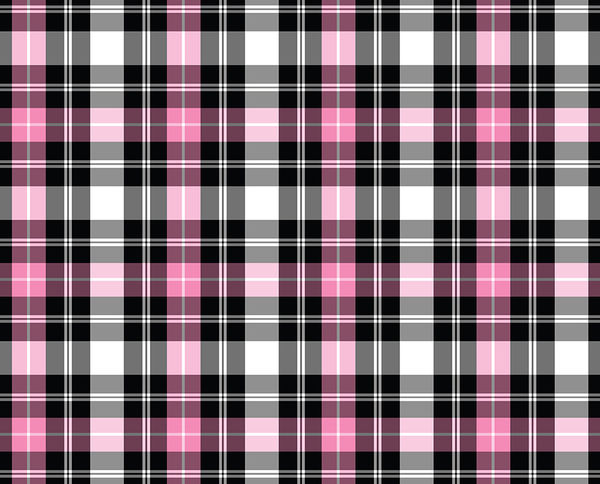 Pink Plaid Decalgirl