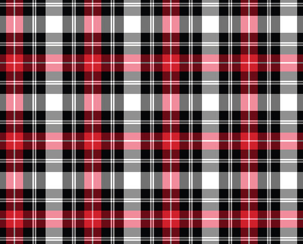 Red Plaid Decalgirl
