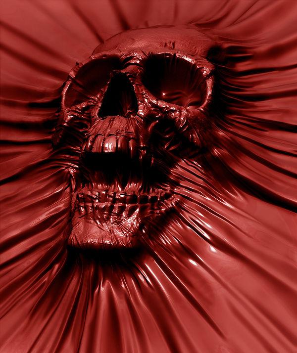 skull blood by david penfound