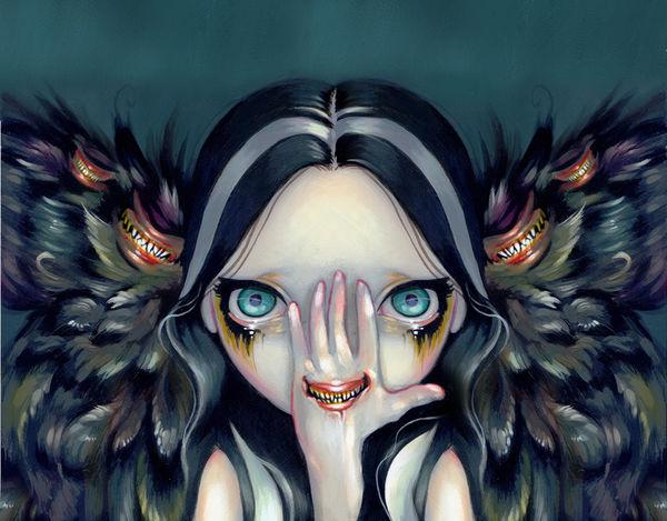 Jasmine Becket-Griffith Speak No Evil