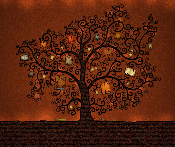 Book Cover Background Quotes : Tree of books by vlad studio decalgirl