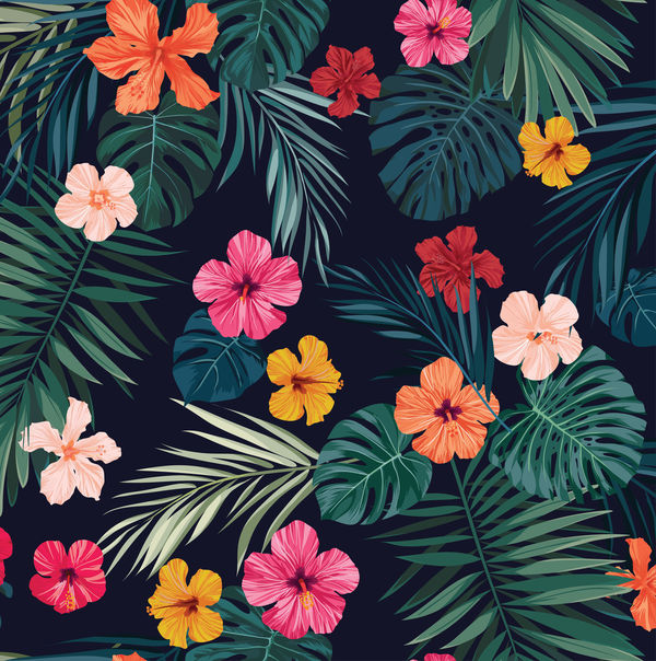 Tropical Hibiscus Surface Pro 4 Skin Sticker Decal