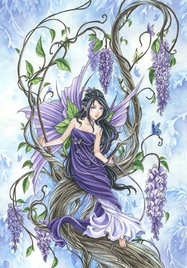 wisteria by meredith dillman decalgirl
