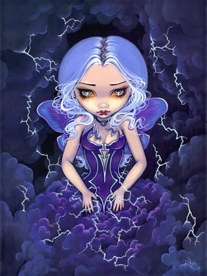 Dress Storm by Jasmine Becket-Griffith