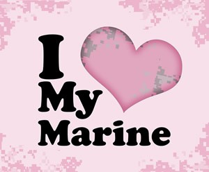 I Love My Marine