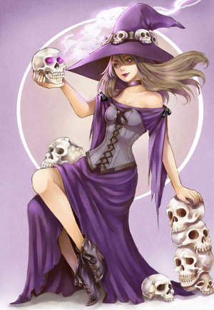 Skull Witch