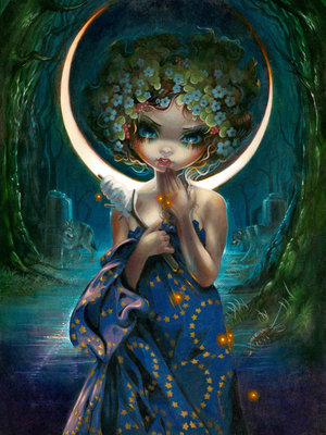 The Moon by Jasmine Becket-Griffith