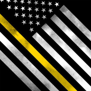 Thin Yellow Line Hero