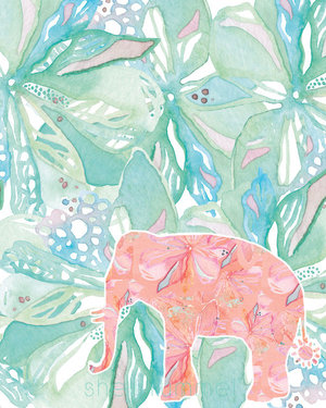 Tropical Elephant