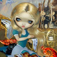 Alice in a Dali Dream
