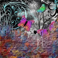 Pandigital Planet 7in Tablet Skin - Butterfly Wall