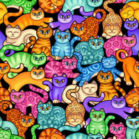 Alex eReader Skin - Colorful Kittens