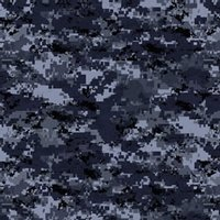Intrigue Skin - Digital Navy Camo