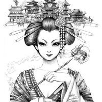 Geisha Sketch