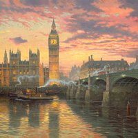 London - Thomas Kinkade