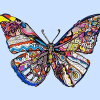 Pieced Butterfly