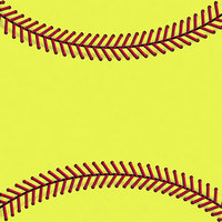 Magic Trackpad Skin - Softball