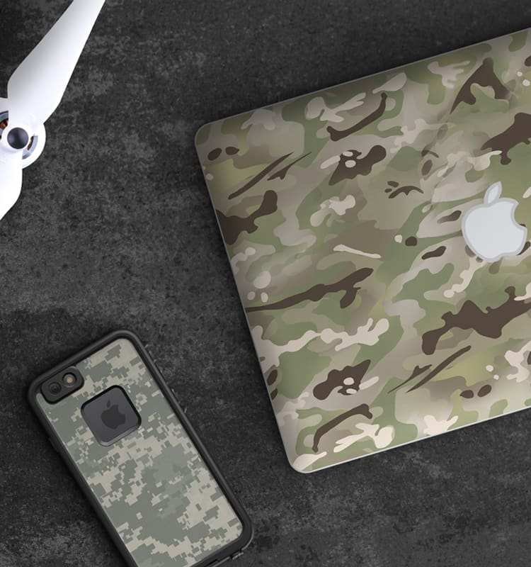 DecalGirl Camo Skin Collection
