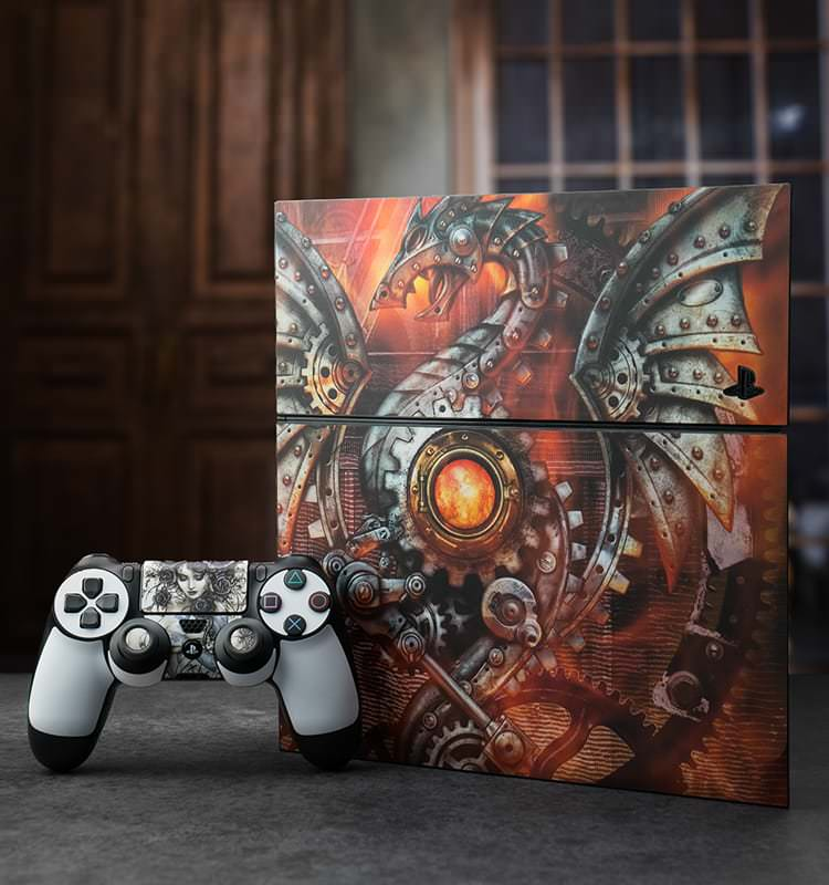 Sony Ps4 Game Console Skins Decalgirl