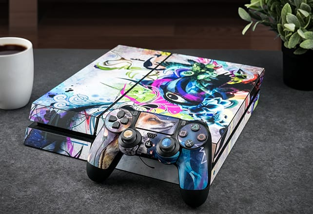 PS4 and Controller Skins