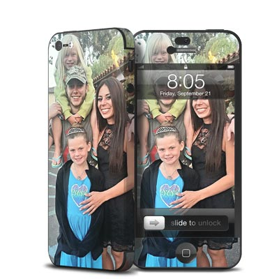 Create Custom skins for Your Apple iPhone 5