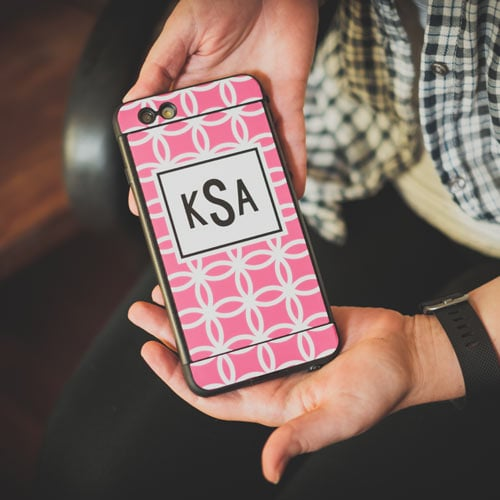 Make Your Own Monogrammed Skins