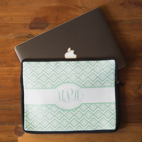 Make Your Own Monogrammed Sleeves