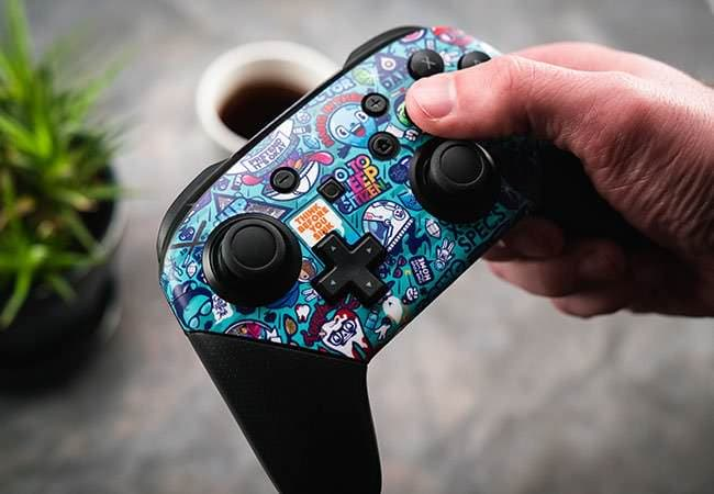 Nintendo Switch Pro Controller Skins