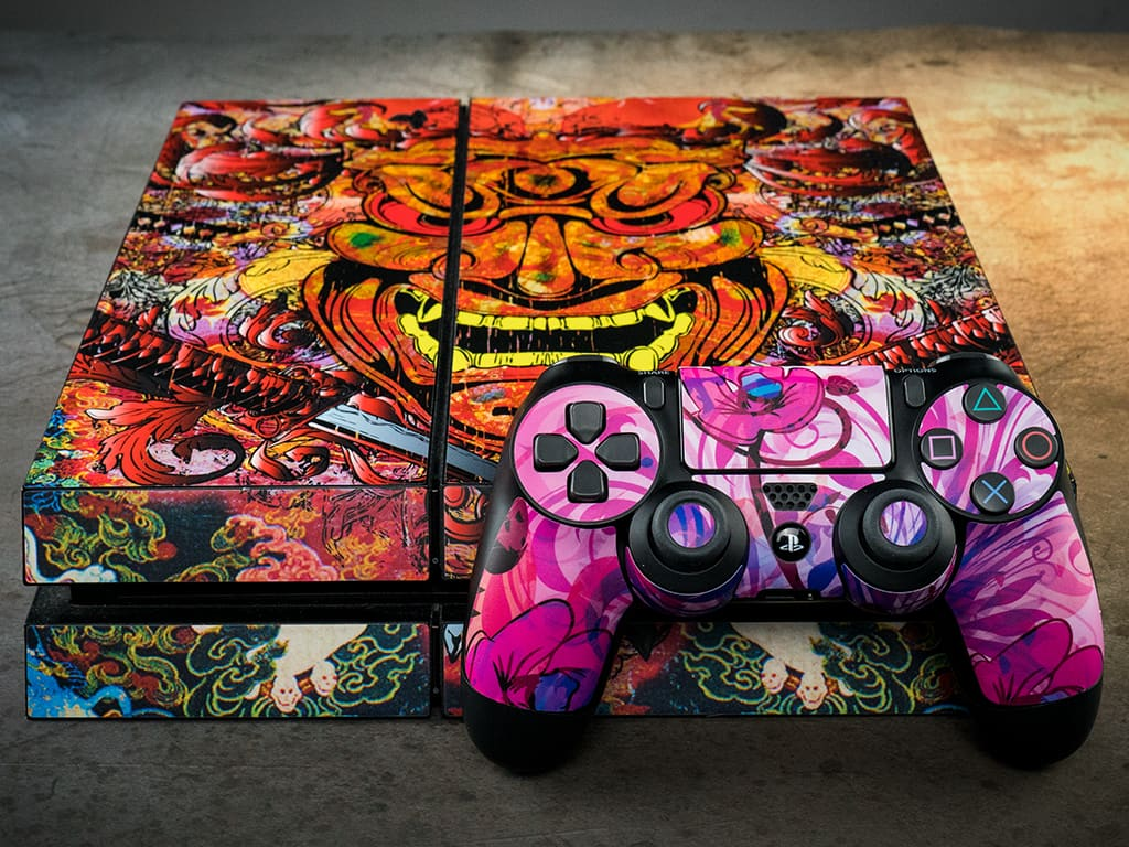 Sony Gaming Skins - Click to View Larger Image