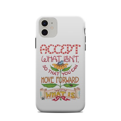 Apple iPhone 11 Clip Case - Accept What Isn't