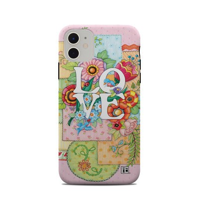 Apple iPhone 11 Clip Case - Love And Stitches