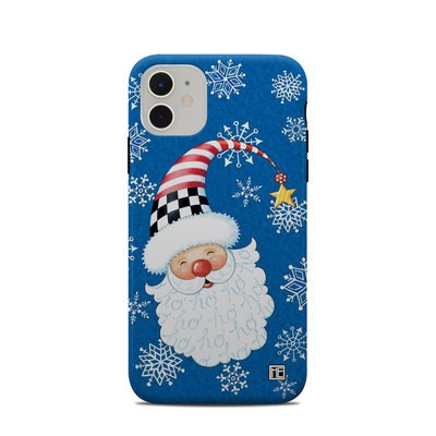 Apple iPhone 11 Clip Case - Santa Snowflake