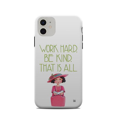 Apple iPhone 11 Clip Case - Work Hard