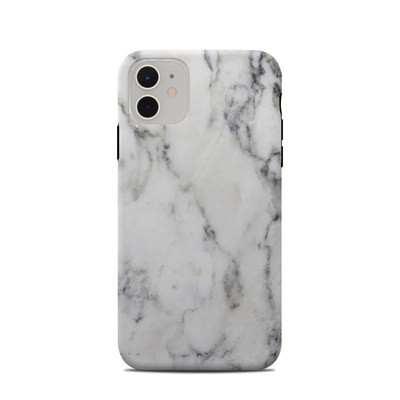 Apple iPhone 11 Clip Case - White Marble