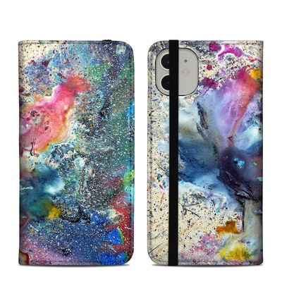 Apple iPhone 11 Folio Case - Cosmic Flower